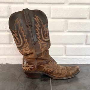 1883 Lucchesse Cowboy Boots 9B